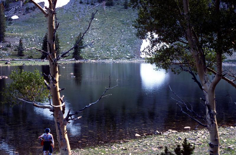 Stella Lake, Wheeler Peak Area, 1978.