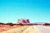 Enchanted Mesa, 400 foot Ancestral Dwelling, New Mexico, 1978.