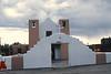 Taos Pueblo, New Mexico, 1978. Church of San Geronimo St. Jerome. Original church destroyed dury 1847 Mexican War.