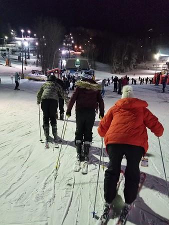 Jan snow skiing Boone, NC