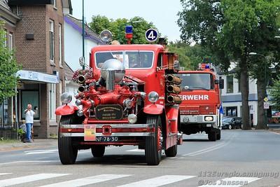 Dag van de oude brandweerwagen