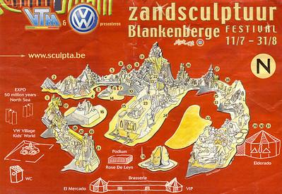 Blankenberge-Zandsculpturen 2003