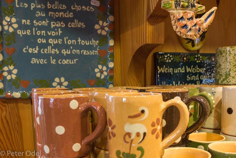 .. nogle timer senere kigger vi på keramik i Soufflenheim i Alsace
