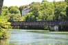 slottet og den gamle jernbanebro... (banen er nedlagt)