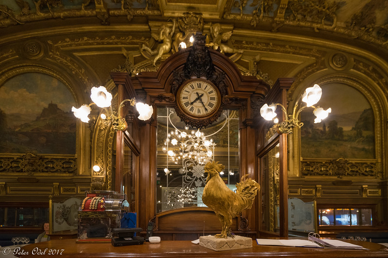 Restaurant Le train bleu