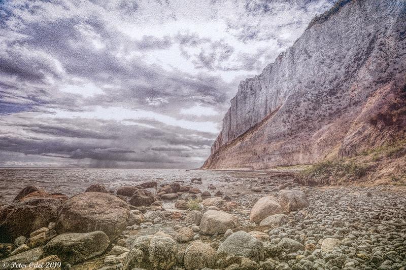 White cliffs of Møen