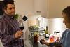 vi bliver inviteret til middag hos Kristian i hans nye lejlighed - efter tur til Ikea...