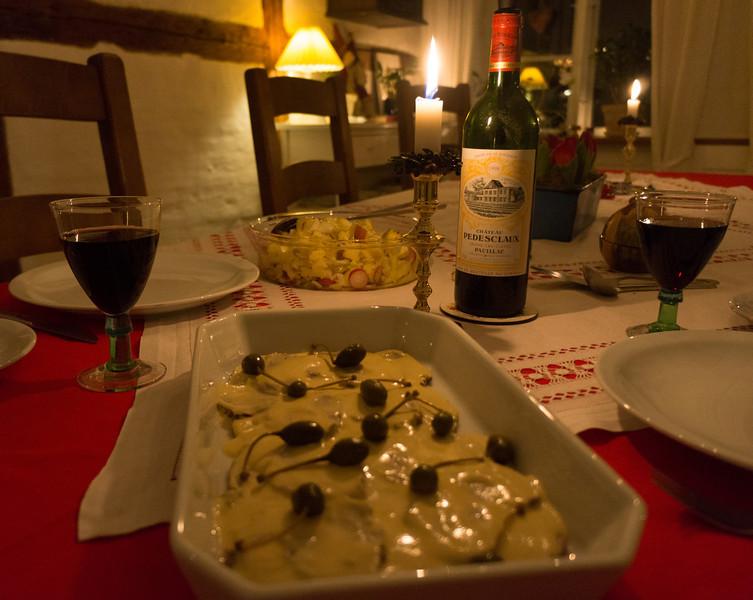2. juledag middag...