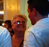 """Andrew og hans """"mom"""""""