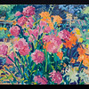 "Pink Dahlias, 2011, 20x30"", oil on canvas"