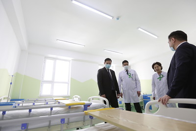 2020 оны арваннэгдүгээр сарын 09. УХТЭ-ийн дэргэдэх 50 ортой хүүхдийн эмнэлгийг шинээр барьж, иж бүрэн тоног төхөөрөмжөөр ханган ашиглалтад оруулах үйл ажиллагаа боллоо. ГЭРЭЛ ЗУРГИЙГ Г.ӨНӨБОЛД/МРА