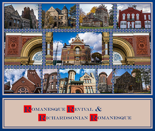Romanesque Revival & Richardsonian Romanesque Buildings