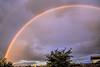Double rainbow over west Eugene