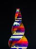 Spiral helix - acrylic sculpture