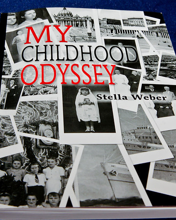 032 Feb 8/11<br /> <br /> My Childhood Odyssey by Stella Weber.  A fantastic book written by a friend's mother describing her years as a child living in Poland, Russia, Persia, India, Uganda, Italy and finally arriving in Canada in 1949 at the age of 14.
