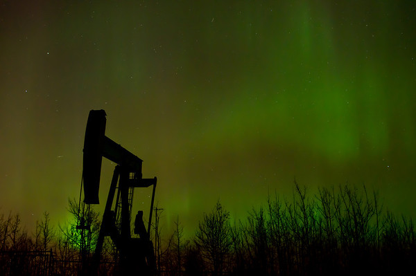 255 Oct 26/11 Northern Lights from Monday night.