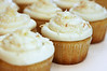 092 Apr 5/11 Pic #3 Coconut Lemon cupcakes frosted and ready to serve.