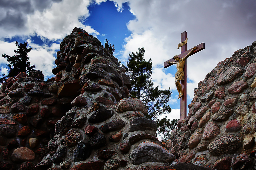 130 May 18/11 Skaro Shrine, Our Lady of Lourdes Grotto, Lamont Alberta