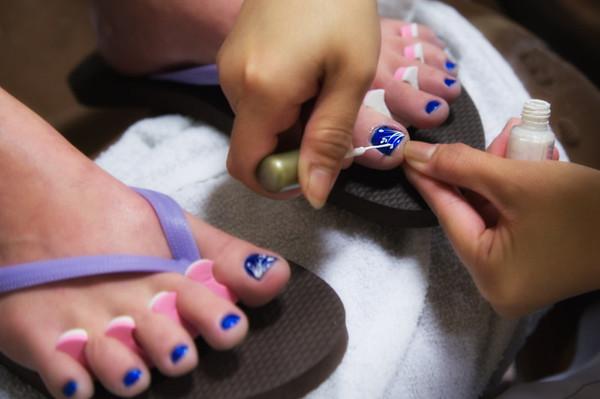 165 Nov 2/12 Pretty toes.