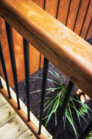 05/19/12 New front step railing.