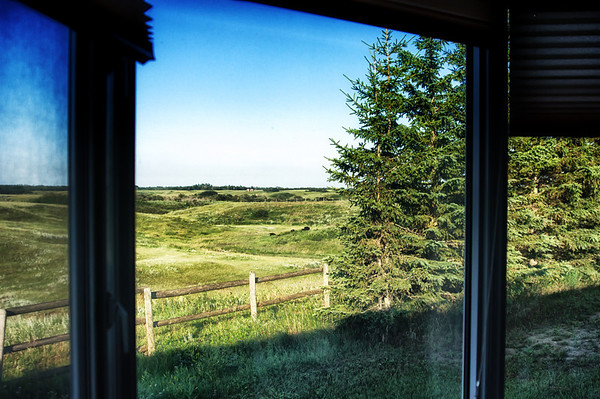 07/24/12 How would you like to wake up in the morning to this view.  We stayed overnight with my husband's cousin and this was the view from our bedroom.