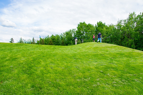 154 Jun 3/13 My golf team at the hole on the hill.
