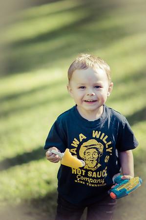 190 Jul 22/13 My grandson playing at Grandma's and Grandpa's house.