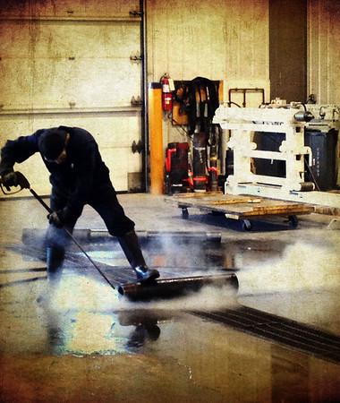 051 Feb 20/13 Washing of the tools.