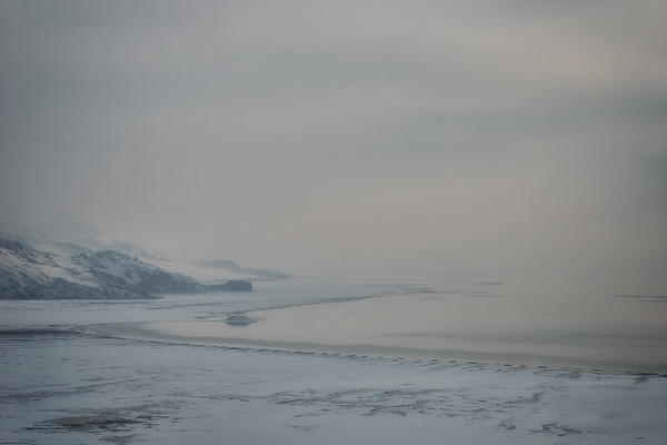 2017-02-23 Great Salt Lake and Antelope Island in the fog