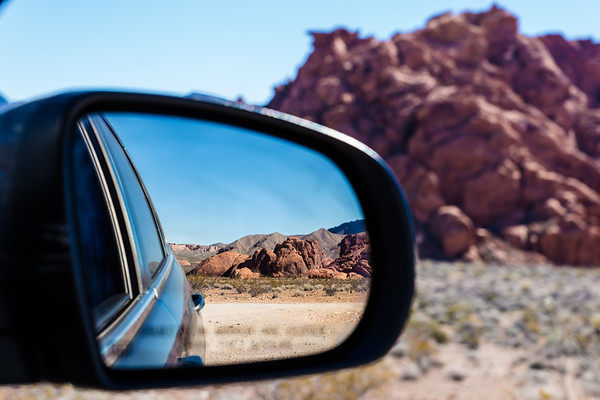 Leaving Valley of Fire, Nevada