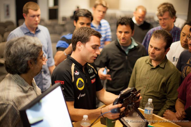 #159 - Jerome D'Ambrosio, Lotus F1 Team Driver