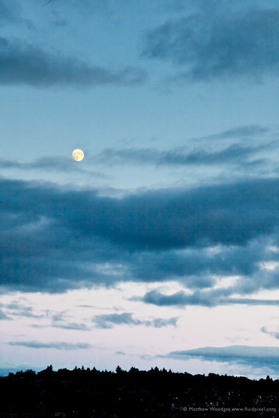 #164 - Seattle Moon