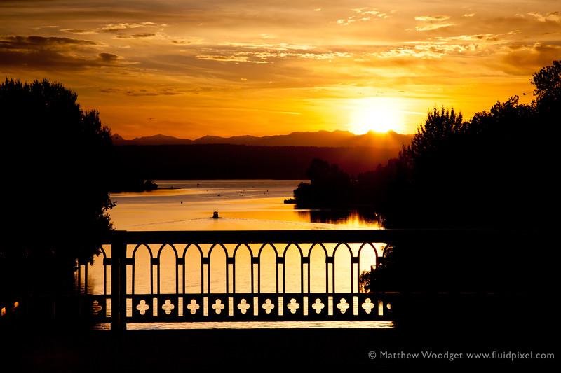 #273 - Montlake Sun rise