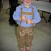 Sept. 29. L is for Lederhosen!  It's Oktoberfest time and at a festival I was at yesterday this little boy was decked out so I asked to take his picture.  Lederhosen means leather pants in German, so either way in German or English, it's still an L! ; )  (He couldn't keep his eyes open AND smile for me)