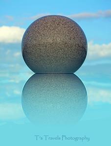 May 21. Just playing around with this random ball of granite.
