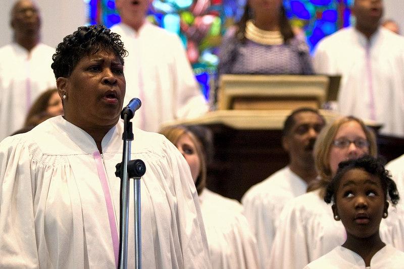 Gospel Singers.  4/09/2006