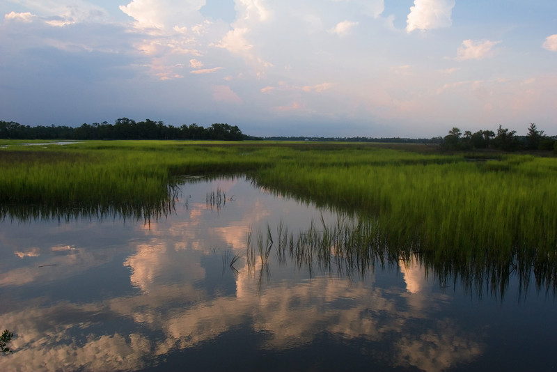 Low Country Marsh At Sunset<br /> <br /> (for Thursday)
