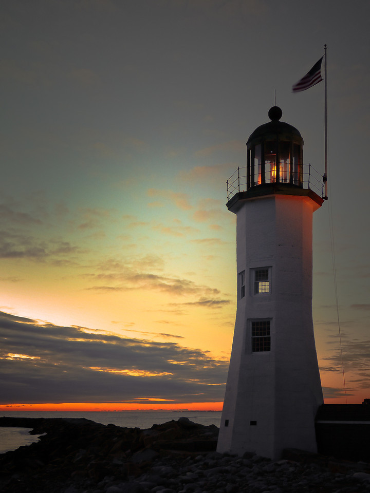 Scituate Lighthouse<br /> Scituate, Ma