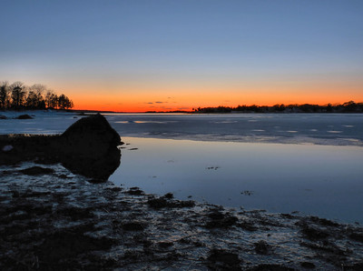 My photography student and I shot this scene in Pocasset for about a half hour. Very nice little after-sunset spot. What a great way to make a living! Hey, we all have dreams.