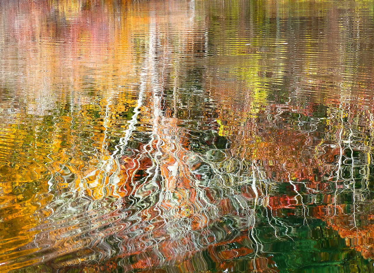 Autumn reflections on Herring Pond<br /> Plymouth, Ma