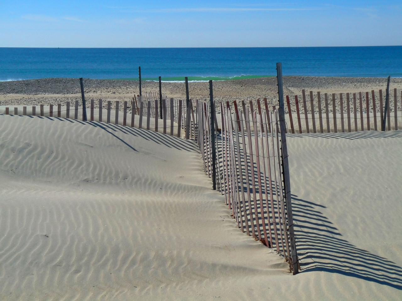 Horseneck Beach in the winter.