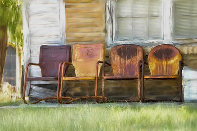 Four Rusty Chairs