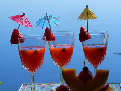 To the first day of school and friends to share it with.....cheers!