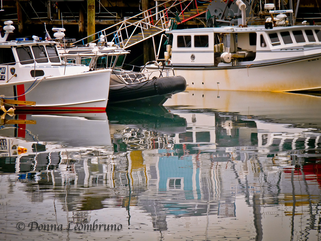 Plymouth, Ma<br /> I took exactly two shots yesterday. This was one of them. I just can't pass up a good reflection, especially one with interesting shapes and color! I'm posting early again as I'm off to the Cape for sunrise. <br /> Have a great Thursday!