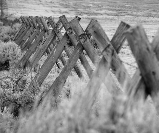 May 6 -Fence line  <br /> <br /> Ranchers use this type of fence in a lot of the western states