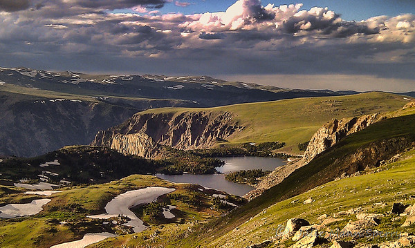 April 1 - Scene from the Beartooth Highway in Montana - taken with my cell phone because i didn't have my camera with me! (from my archives)<br /> <br /> Thank you so much for your response to my Easter image yesterday of the three crosses!  I am honored and humbled that the image was so popular - this community continues to inspire me and I appreciate all your work and that you take the time to comment on mine!  Thank you again!