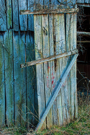 Mar 26 - Old Door - I hope to visit this place again when leaves are on the vines