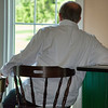 July 19 - Tired Chef <br /> <br /> I took this photo while at an event where I caught the chef taking a break.  <br /> <br /> Thanks so much for your kind comments on my Norris Geyser Basin image yesterday.  They are much appreciated.