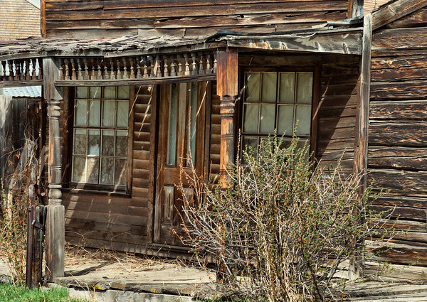 July 24 - Anyone Home?<br /> <br /> Another dilapidated structure in Virginia City Montana (an old gold mine site).<br /> <br /> Thanks so much for all your comments on my Abandoned Board Walk image yesterday!  This is another one from the same town in Montana.