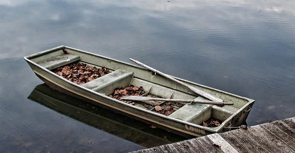 Nov 18 - Docked Row Boat